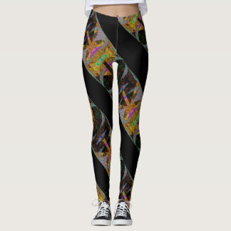 Intricate Wovens - Shapely Figurines Leggings