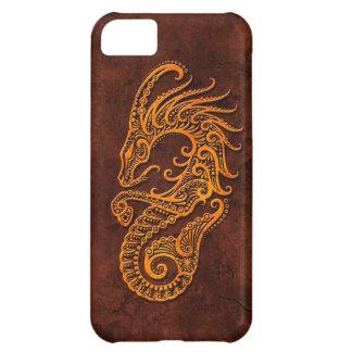 Intrictate Stone Capricorn Symbol iPhone 5C Cases