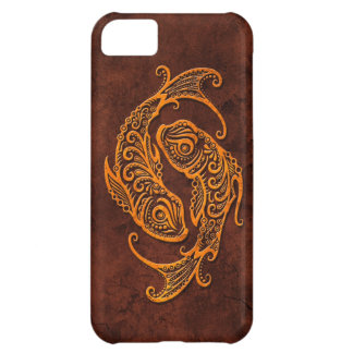 Intrictate Stone Pisces Symbol iPhone 5C Covers