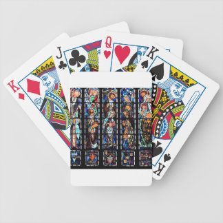 Intrigue - Stained Glass Art Poker Deck