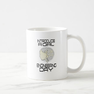 Introduce A Girl To Engineering Day 16th February Coffee Mug