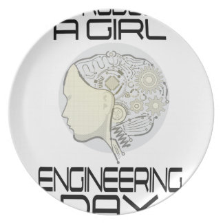 Introduce A Girl To Engineering Day 16th February Plate