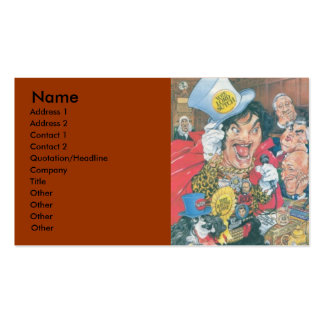 INTRODUCING: SCREAMING LORD SUTCH PACK OF STANDARD BUSINESS CARDS