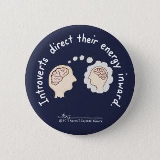 Introvert Basics: Energy Inward Dk Bl Button