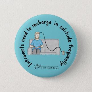 Introvert Basics: Recharge Blue Button