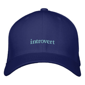 introvert hat embroidered hats