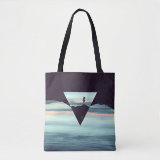 Introvert Highs and Lows Tote Bag
