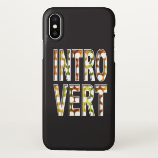 Introvert internal colors design | iPhone x case