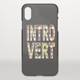 Introvert internal design | iPhone x case