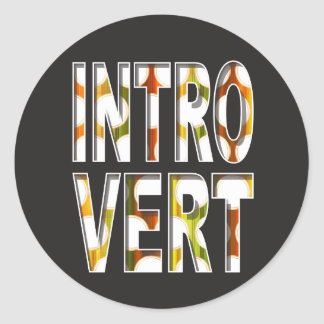Introvert internal design | Sticker