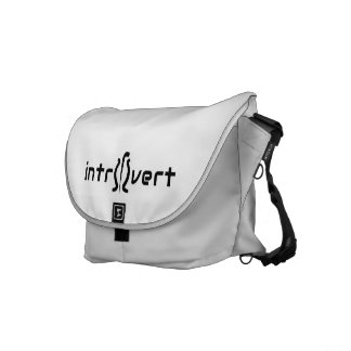 Introvert Tote Bag Courier Bag