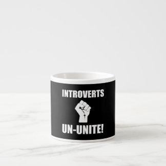 Introverts Un Unite Espresso Mug