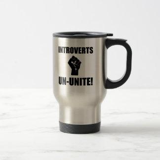 Introverts Un Unite Stainless Steel Travel Mug