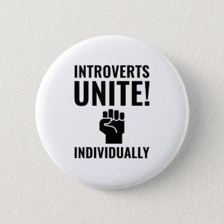 Introverts Unite 2 Inch Round Button