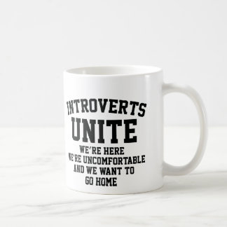 Introverts Unite Coffee Mug