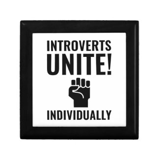 Introverts Unite Gift Box