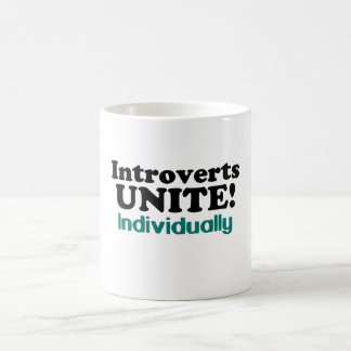 Introverts Unite! Individually Mug