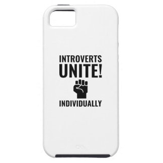Introverts Unite iPhone 5 Covers