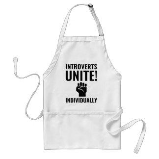 Introverts Unite Standard Apron