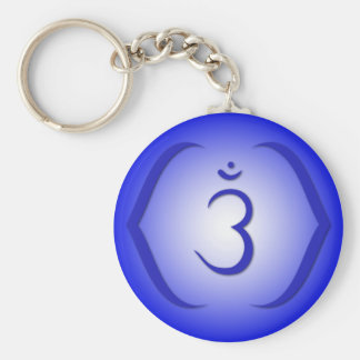 Intuition Chakra - Ajna Keychain