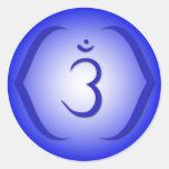Intuition Chakra - Ajna Round Sticker