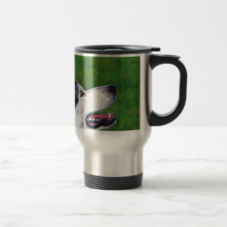 Inuit Sky - Northern Inuit Dog Travel Mug