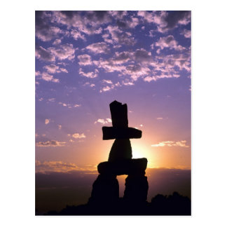 Inukshuk Northwest Territories, Canada Postcard