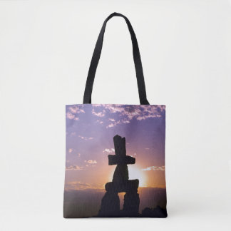 Inukshuk Northwest Territories, Canada Tote Bag