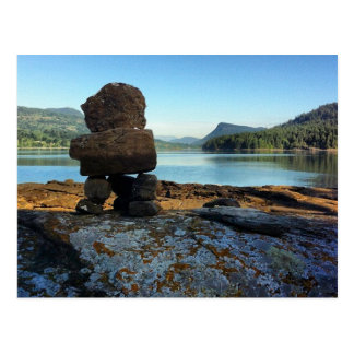 Inukshuk on Russell Island Postcard