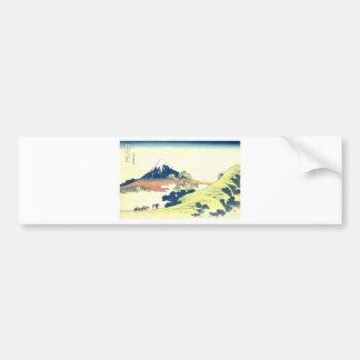 Inume Pass in Kai Province - Katsushika Hokusai Bumper Sticker