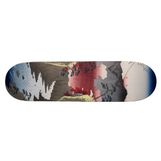 Inume Pass in Kai Province. Skate Decks