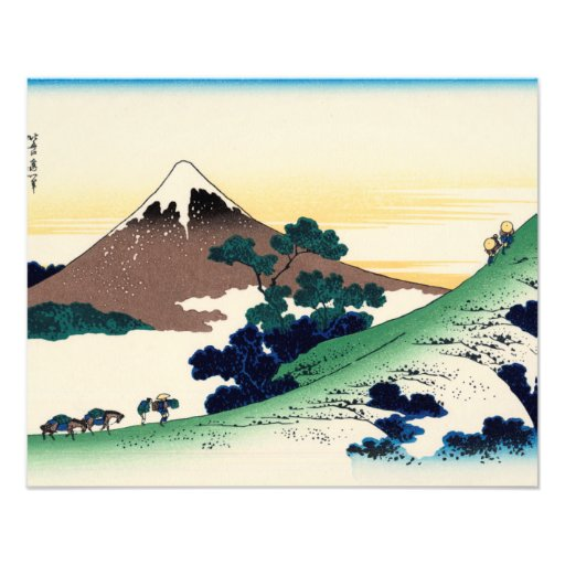 Inume pass in the Kai province Photographic Print