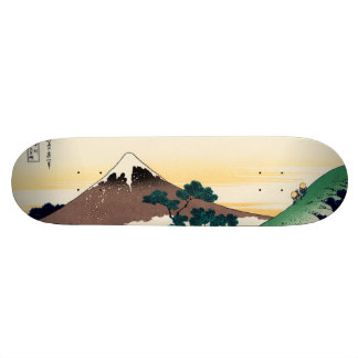 Inume pass in the Kai province Skate Decks