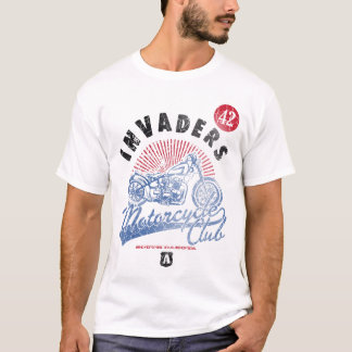 Invaders Motorcycle Club Shirt