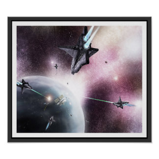 Invasion de l'espace poster