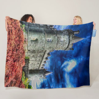 Inveraray Castle, Argyll Scotland Acrylic Art Fleece Blanket