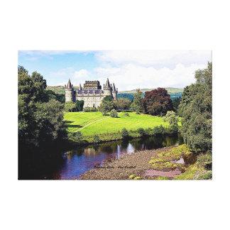 Inveraray Castle – Clan Campbell Canvas Print