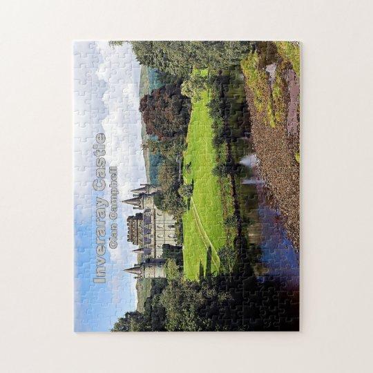 Inveraray Castle - Clan Campbell Jigsaw Puzzle
