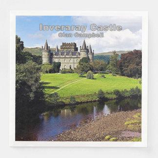 Inveraray Castle - Clan Campbell Paper Dinner Napkin