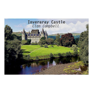 Inveraray Castle – Clan Campbell Poster