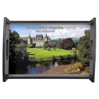 Inveraray Castle - Clan Campbell Serving Tray