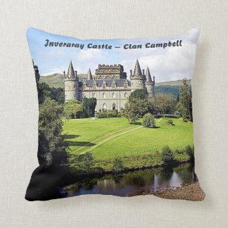 Inveraray Castle – Clan Campbell Throw Pillow