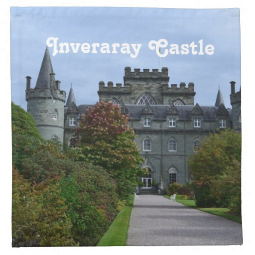 Inveraray Castle Napkin