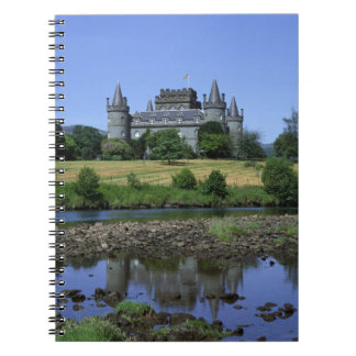 Inverary Castle, Strathclyde, Scotland Notebooks