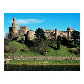 Inverness Castle, Scotland Postcard