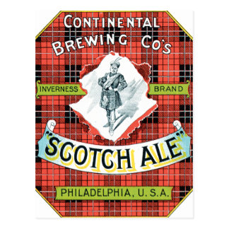 Inverness Scotch Ale Postcard