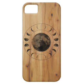Inverse Moon Phases Darkwood Pattern iPhone 5/5S iPhone 5 Covers