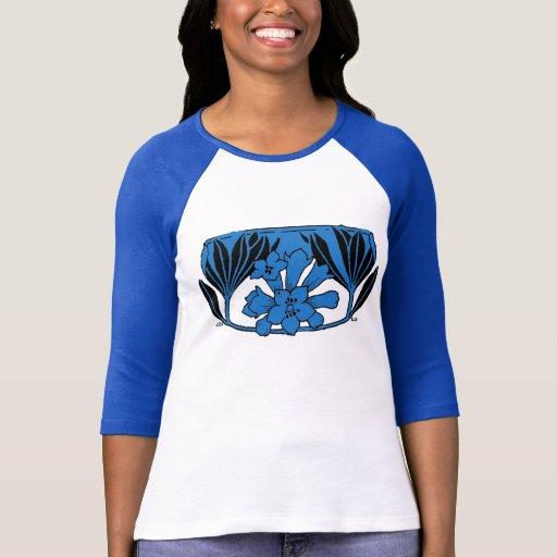 Inverse vintage BlueTint de conception T-shirt