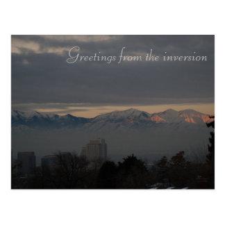Inversion in Salt Lake City Postcard