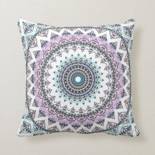 Invert Balance Mandala 2 Throw Pillow
